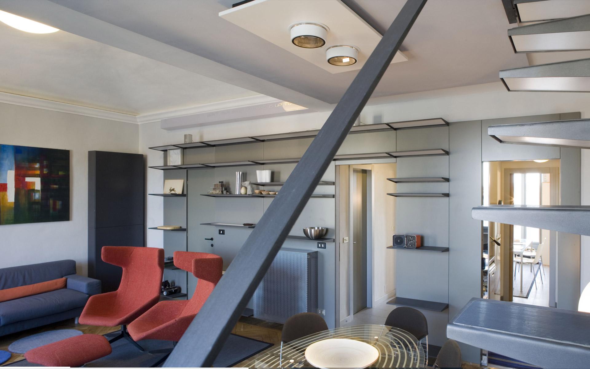 Marco visconti architects interior design residenza privata torino - Interior design torino ...